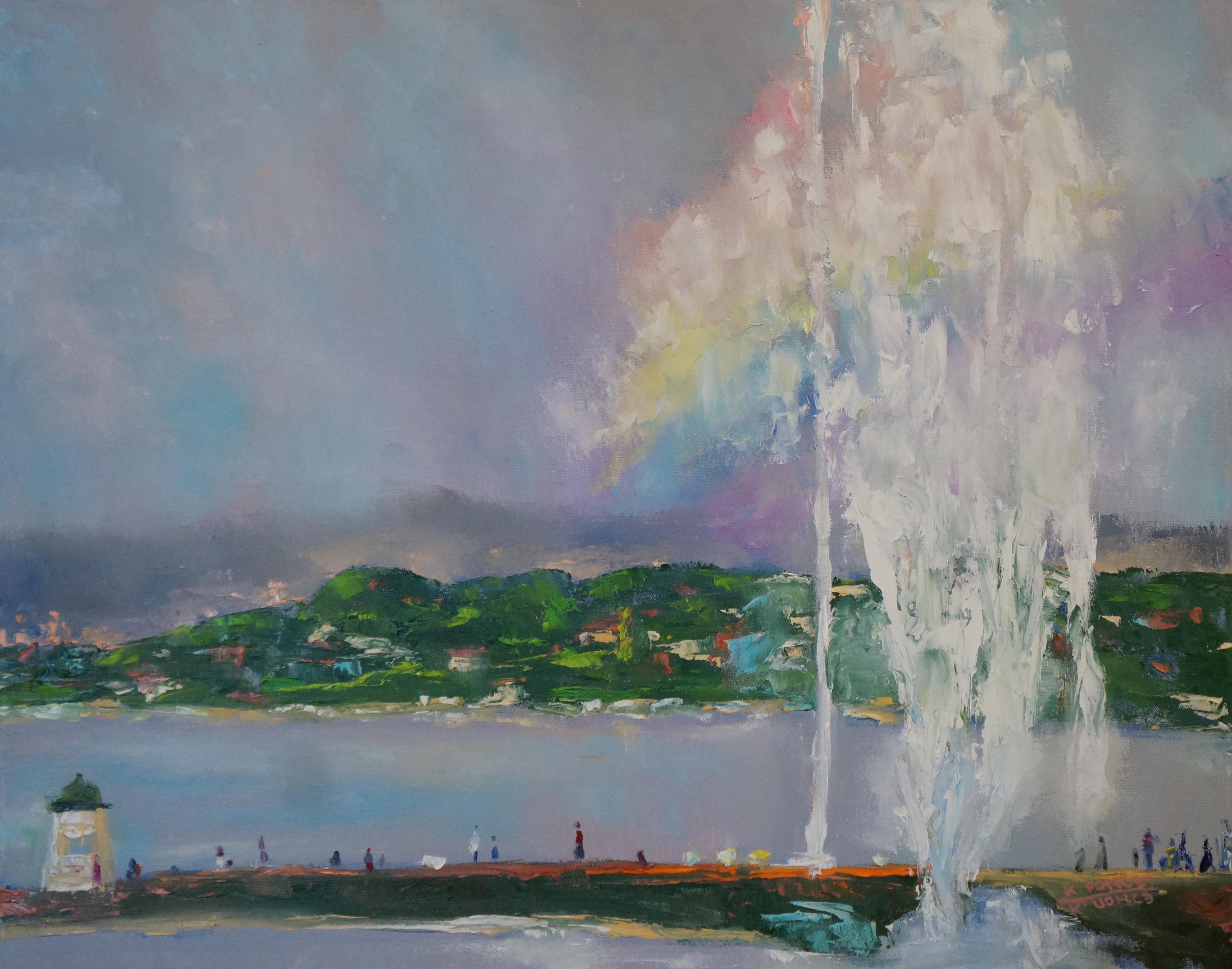 Geneva geyser