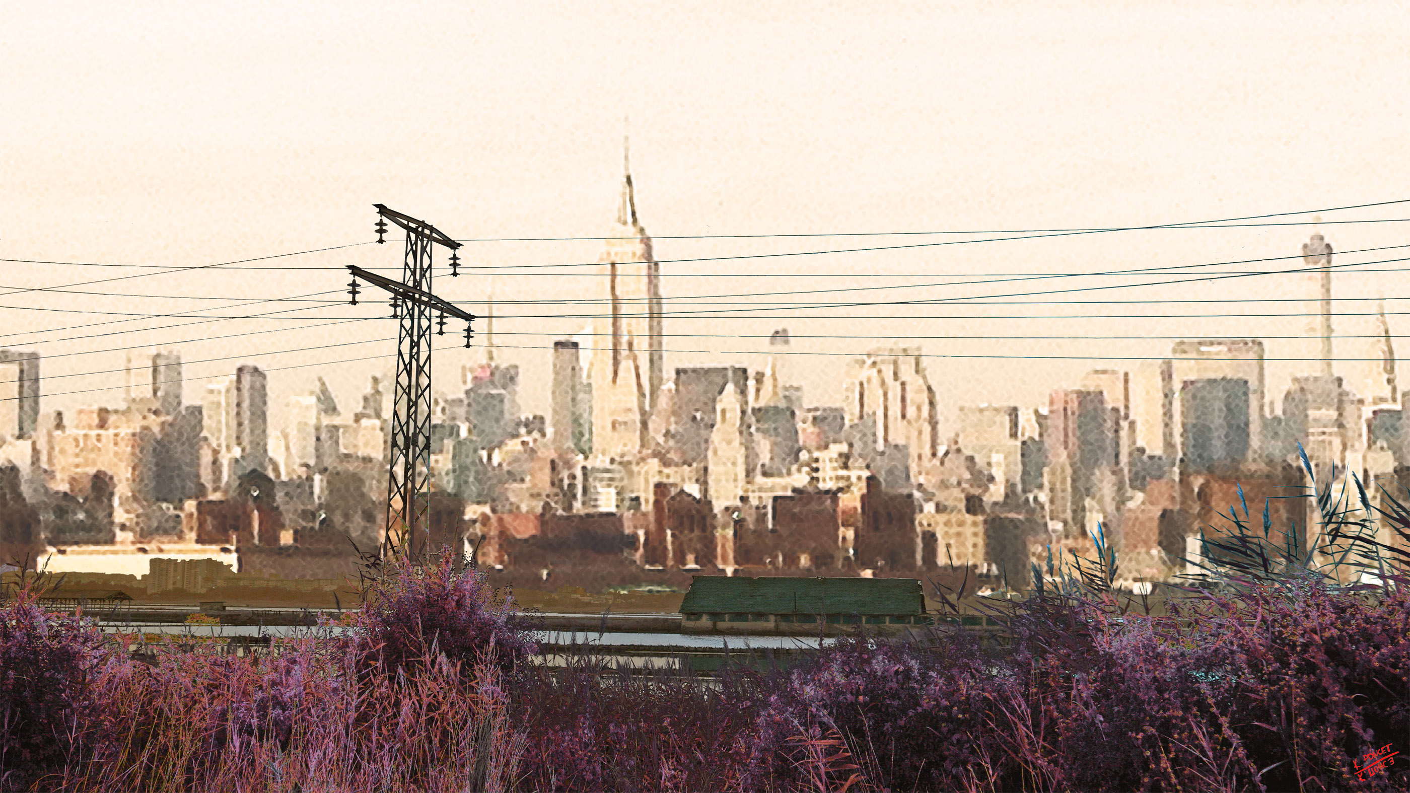 Photo of Manhattan from Long Island City